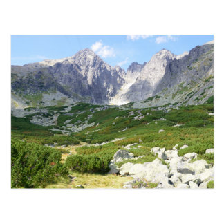 Mountains of High Tatras Slovakia Postcard