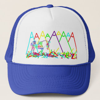 mountains or crayons trucker hat