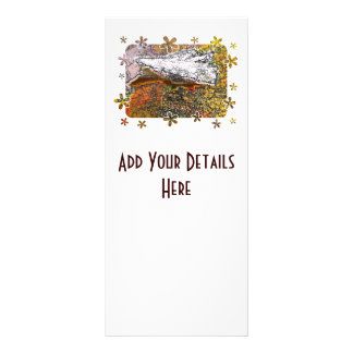 MOUNTAINS RACK CARD TEMPLATE
