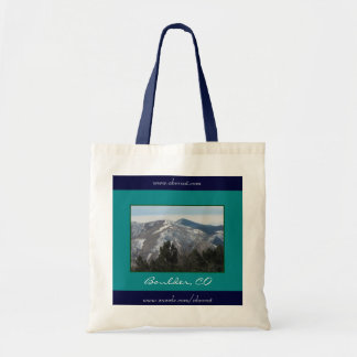 Mountains & Trees, Boulder, CO Tote Bag