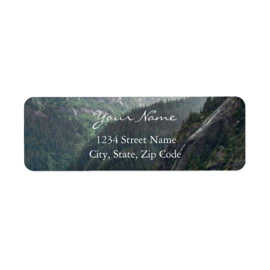 Mountainscape Address Labels