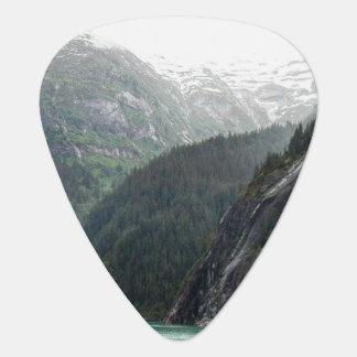 Mountainscape Guitar Pick