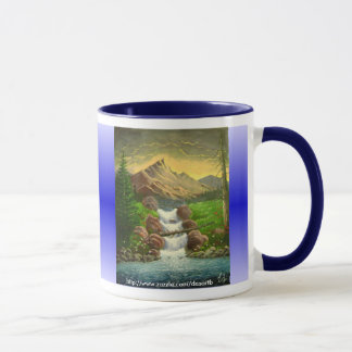 Mountainside Splash (Customizable) Mug