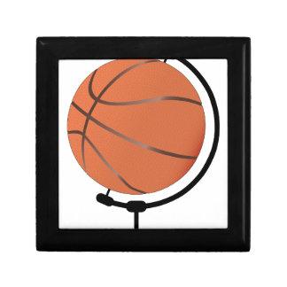 Mounted Basketball On Rotating Swivel Gift Box