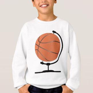 Mounted Basketball On Rotating Swivel Sweatshirt