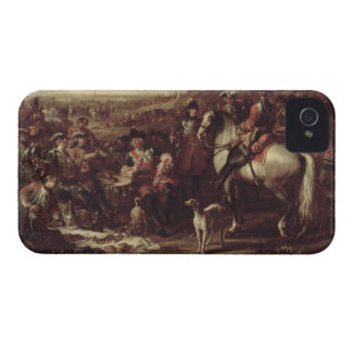 Mounted Dragoons of the King s Household 1737 oi iPhone 4 Cases