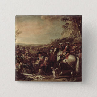 Mounted Dragoons of the King's Household, 1737 (oi 15 Cm Square Badge