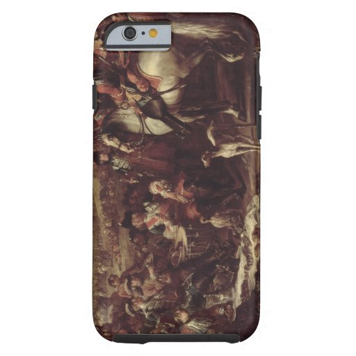 Mounted Dragoons of the King's Household, 1737 (oi iPhone 6 Case