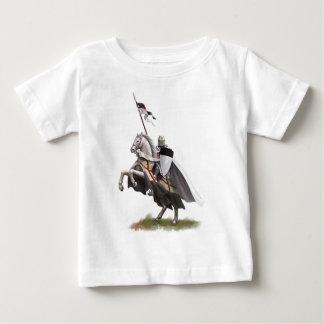 Mounted Knight Templar Baby T-Shirt