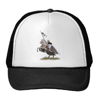 Mounted Knight Templar Cap