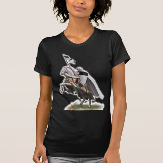 Mounted Knight Templar T-Shirt