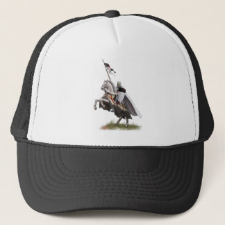 Mounted Knight Templar Trucker Hat