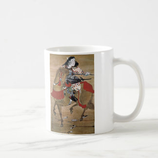 Mounted Samurai Coffee Mug