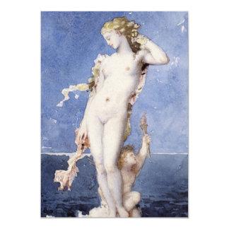 Moureau Aphrodite Birth of Venus Card