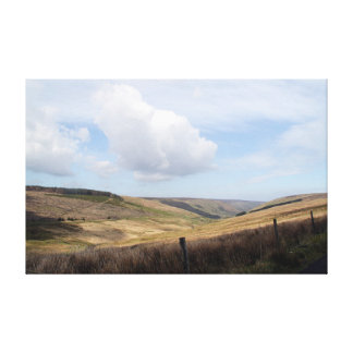 Mourne Mountain Valley Stretched Canvas Prints