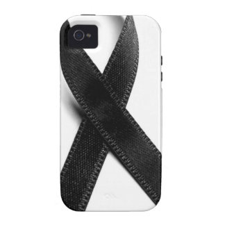 Mourning - Black Ribbon iPhone 4/4S Covers