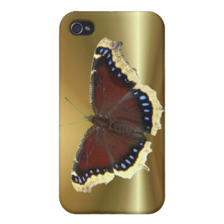 Mourning Cloak butterfly case iPhone 4 Covers