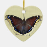 Mourning Cloak Butterfly - Nymphalis antiopa Ornaments