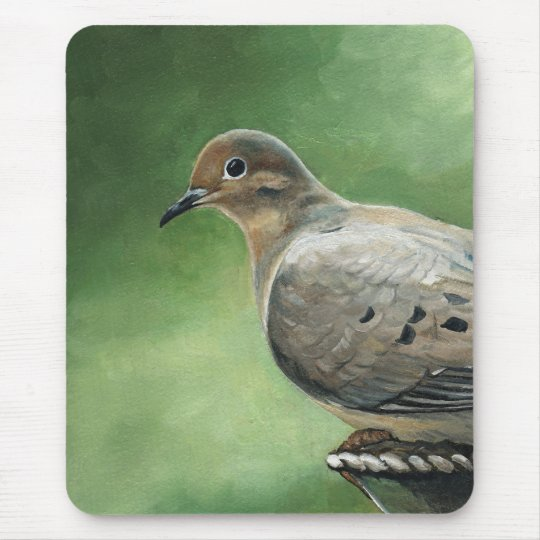 Mourning Dove Art Mouse Pad