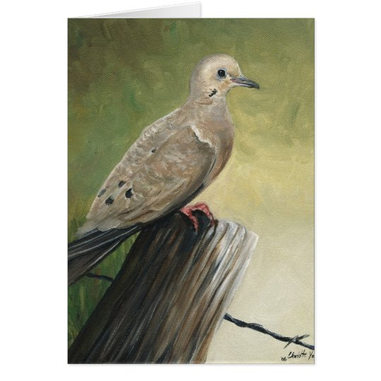 """Mourning Dove"" Art Reproduction Notecards Card"