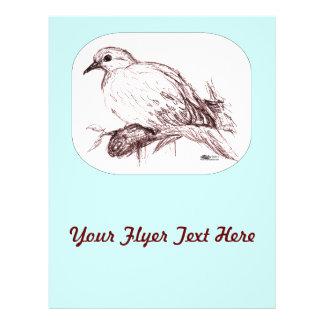 Mourning Dove Baby 21.5 Cm X 28 Cm Flyer