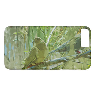 Mourning Doves Abstract Impressionism iPhone 7 Plus Case