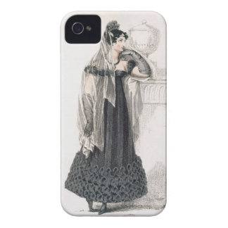 Mourning dress, fashion plate from Ackermann's Rep iPhone 4 Cover