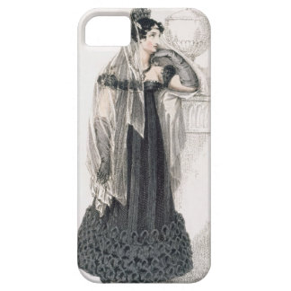 Mourning dress, fashion plate from Ackermann's Rep iPhone 5 Cover
