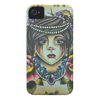 Mourning Lady Case-Mate iPhone 4 Cases