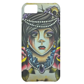 Mourning Lady iPhone 5C Case