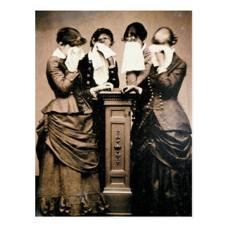 Mourning Victorians Postcard