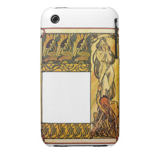 Mourning Woman iPhone 3 Covers