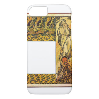 Mourning Woman iPhone 7 Case
