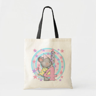 Mouse 4th birthday T-shirts and Gifts Budget Tote Bag