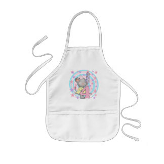 Mouse 4th birthday T-shirts and Gifts Kids Apron
