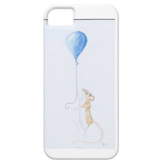 Mouse and Balloon, Watercolour Painting Case For The iPhone 5