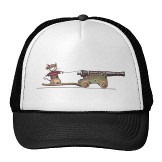 mouse and cannon mesh hats