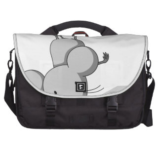 Mouse and cheese laptop commuter bag