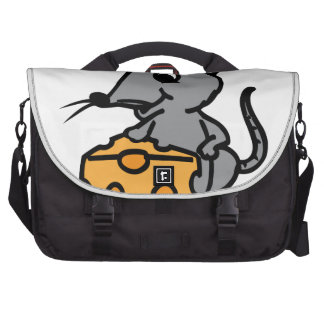 Mouse And Cheese Computer Bag