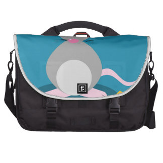 Mouse And Cheese Laptop Bags