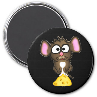 Mouse and Cheese Magnet