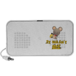 Mouse and cheese .. speaker system
