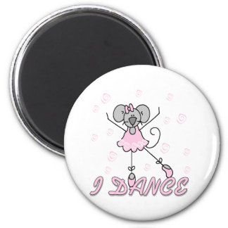 Mouse Ballet I Dance Fridge Magnets