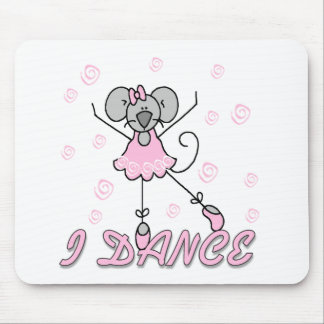 Mouse Ballet I Dance Mouse Pad