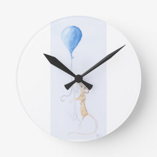 Mouse & Balloon Painting on Clock