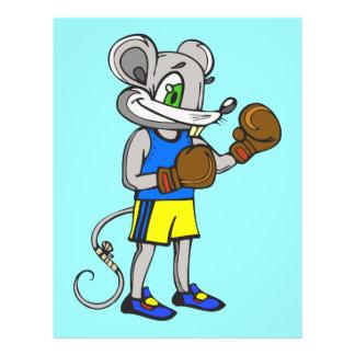 Mouse Boxer 21.5 Cm X 28 Cm Flyer