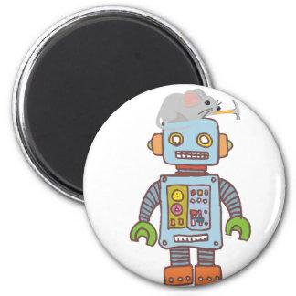 Mouse Building Robot Magnet