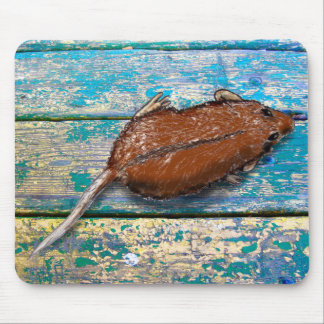 MOUSE by Slipperywindow Mouse Pad