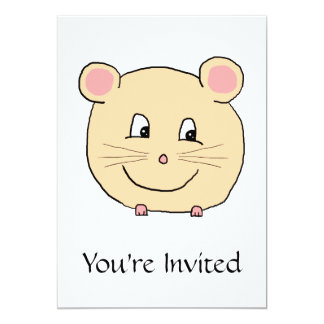 Mouse Cartoon. Card