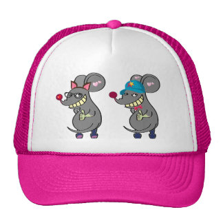 Mouse-Cartoon Mesh Hat